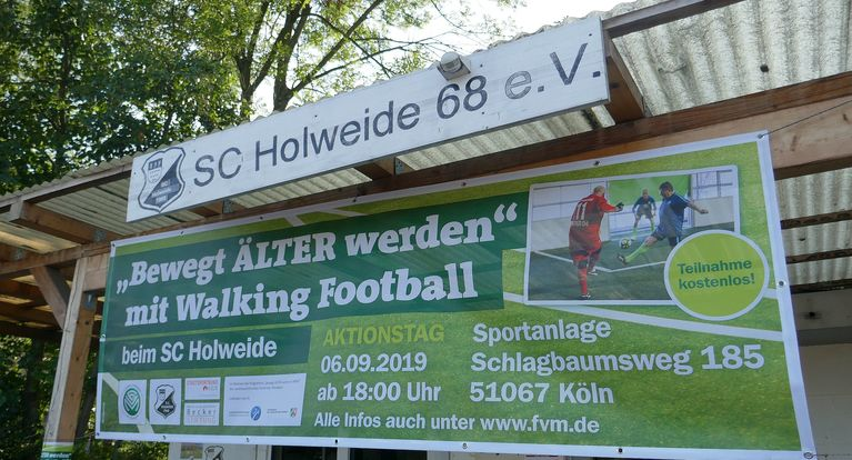 Walking-Football-Aktionstag beim SC Holweide