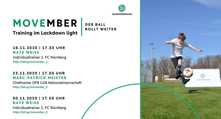 """MOVEmber"" – Training im ""Lockdown light"""